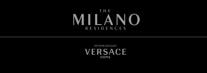 The Milano Residences interior design by VERSACE HOME